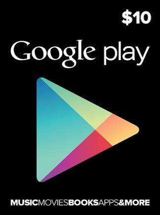 Google Play Gift Card $10 (USA)