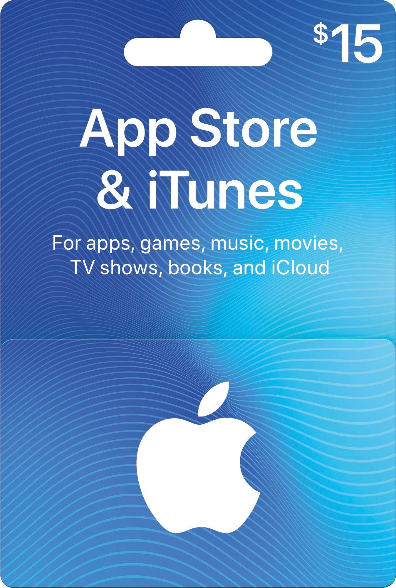 iTunes Gift Card $15 (USA)