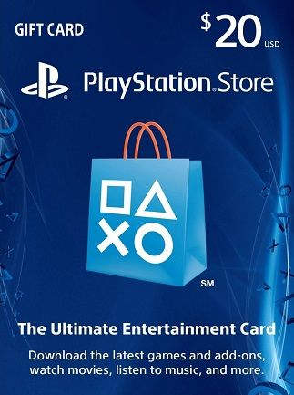 Playstation Network Card PSN $20 USA
