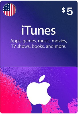 iTunes Gift Card $5 (USA)