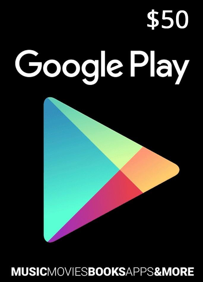 Google Play Gift Card $ 50 (USA)
