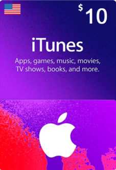 iTunes Gift Card $10 (USA) - фото
