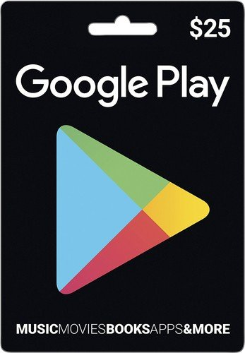 Google Play Gift Card $25 (USA) - фото