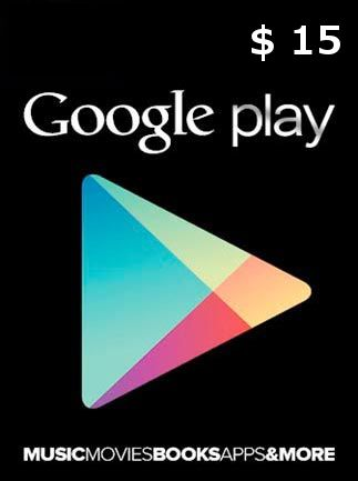 Google Play Gift Card $15 (USA) - фото