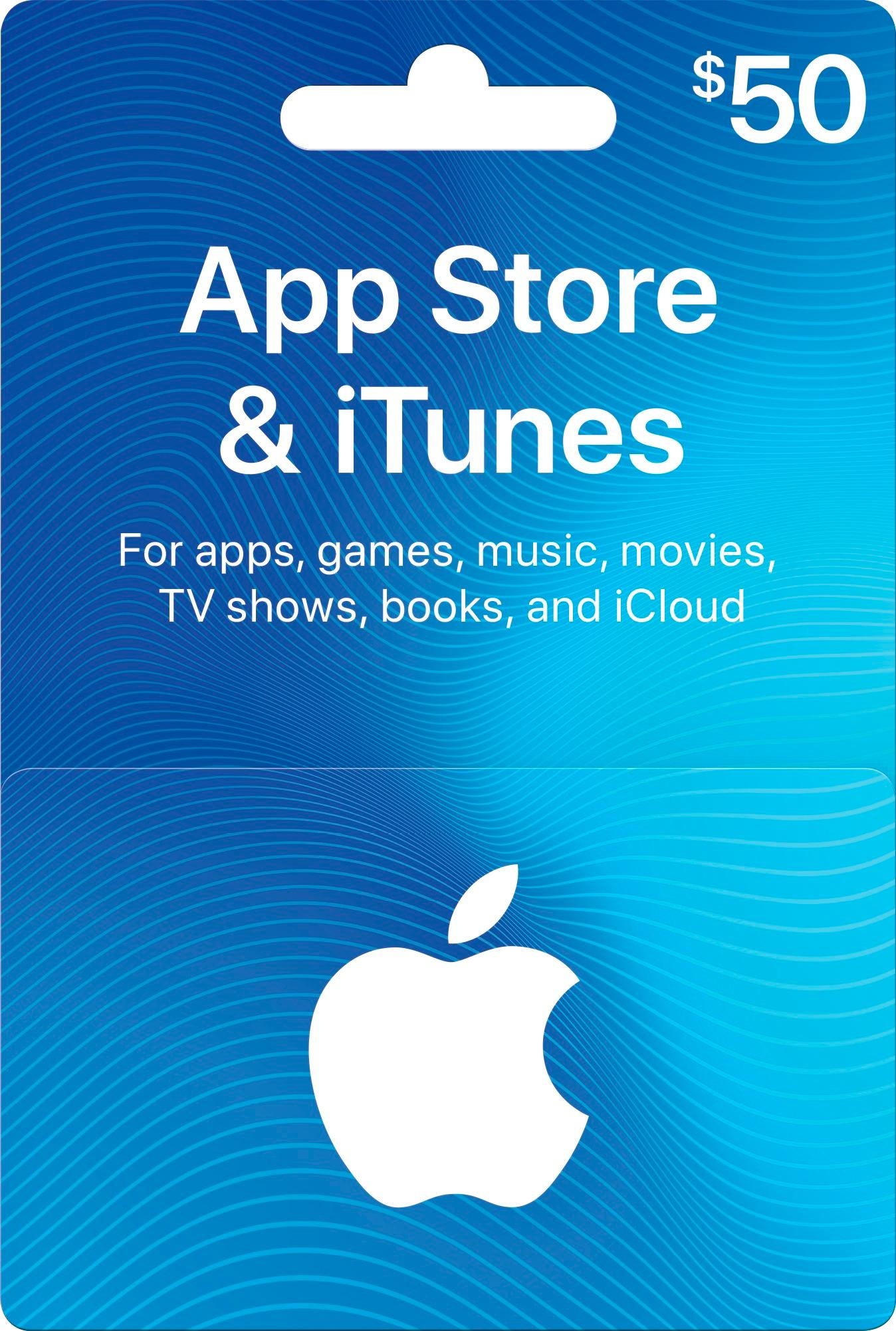 iTunes Gift Card $ 50 (USA) - фото