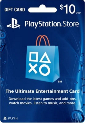 Playstation Network Card PSN $10 USA
